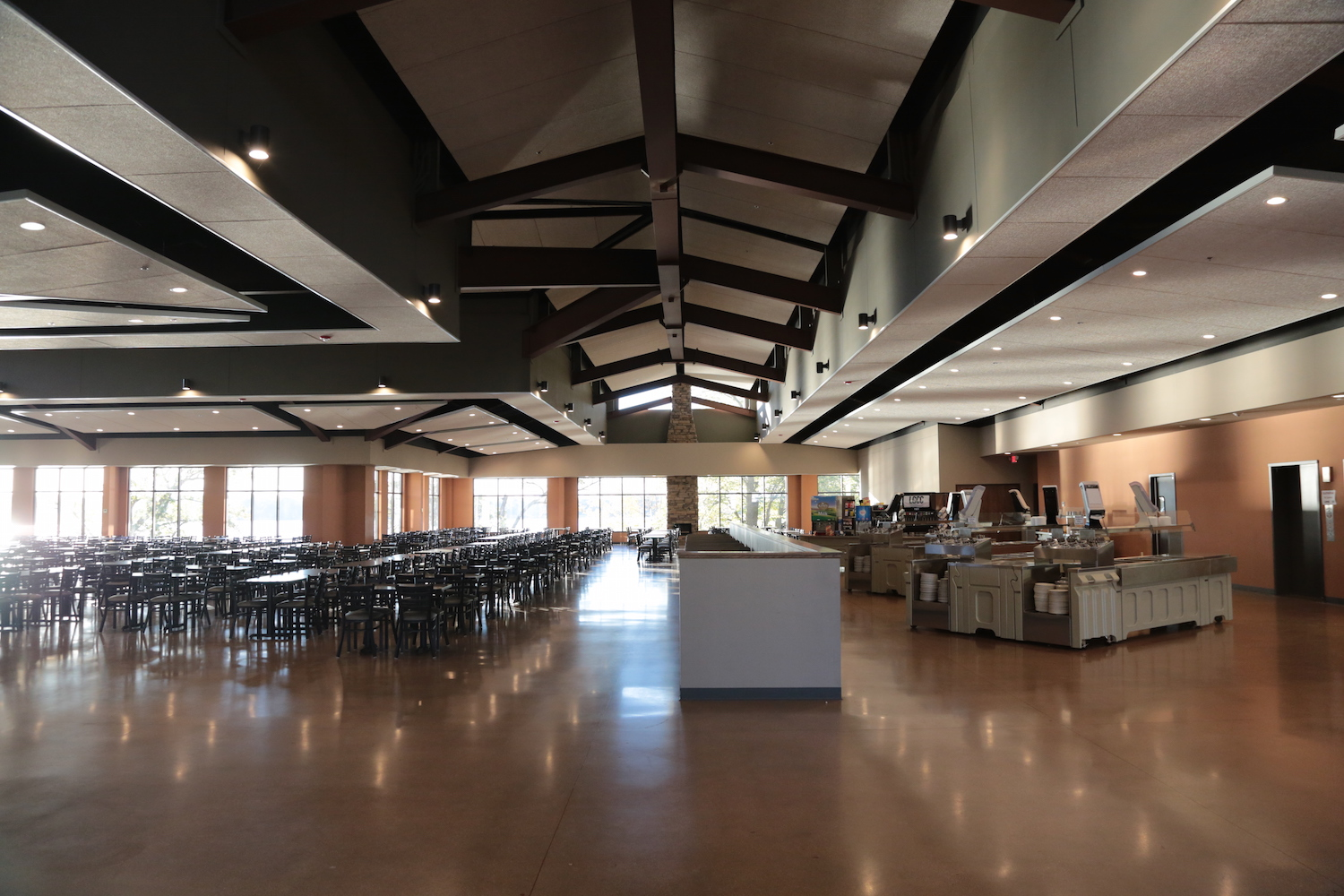 Lake Geneva Christian Center Dining Hall